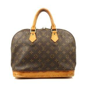 Auth Louis Vuitton Alma Hand Bag #660L15
